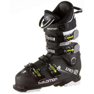 Salomon X PRO 110 Sport Skischuhe Herren black-white