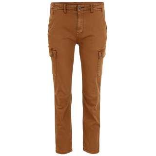 Blue Monkey Jane 10553 Straight Fit Jeans Damen camel