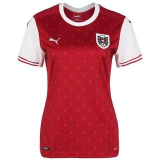 PUMA Österreich Home EM 2021 Fußballtrikot Damen rot / weiß