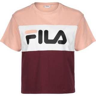 FILA Allison T-Shirt Damen weinrot/pink