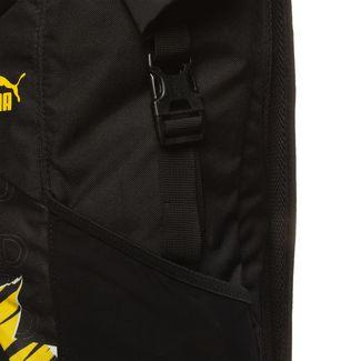 PUMA Rucksack Borussia Dortmund ftblCulture Rolltop Daypack schwarz / gelb
