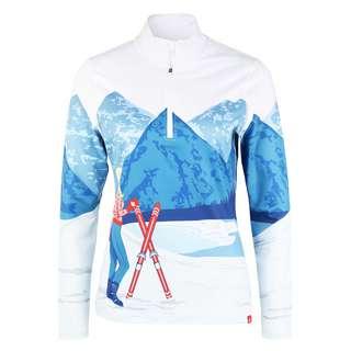Krimson Klover Maple Layerlangarmshirt Damen snow