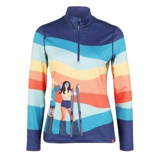 Krimson Klover Peace Love Ski Layerlangarmshirt Damen indigo