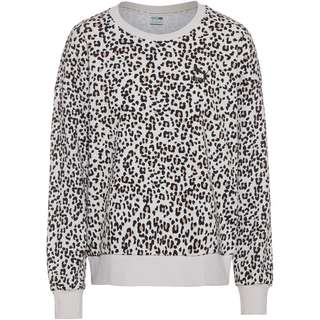PUMA Classics Sweatshirt Damen vaporous gray-animal aop