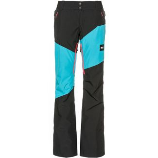 Picture Skihose Damen light blue black