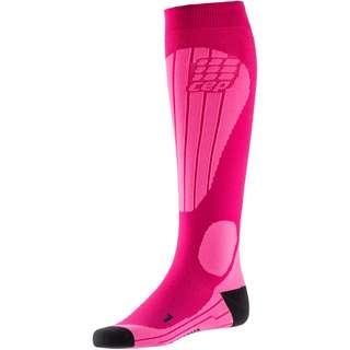 CEP Ski Thermo Skisocken Damen pink-flash pink
