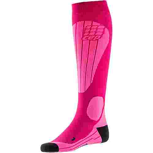 CEP Ski Thermo Skisocken Damen pink-flash pink