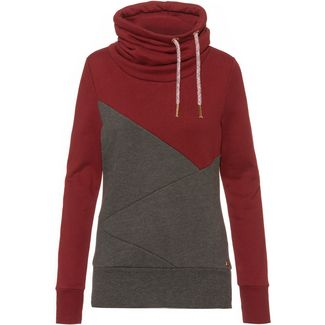 WLD Musiclove II Sweatshirt Damen bordeaux grey