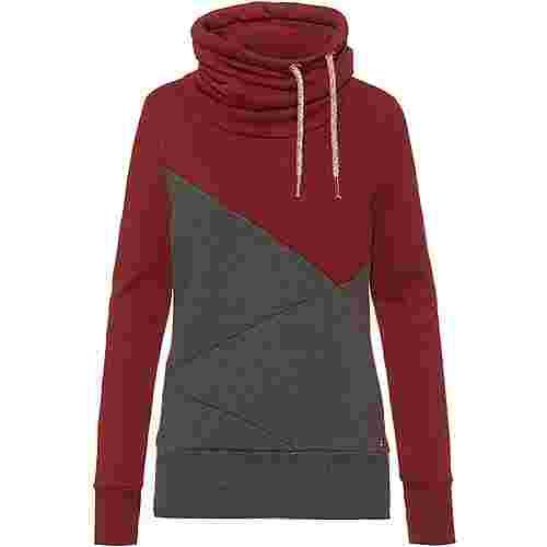 WLD Musiclove II Sweatshirt Damen bordeaux grey
