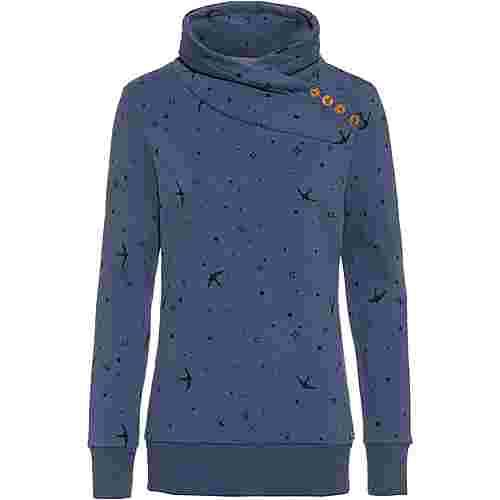 WLD Love Beat Sweatshirt Damen navy birds