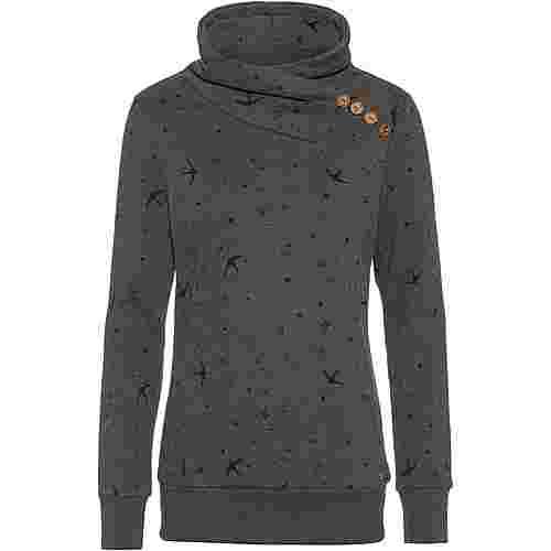 WLD Love Beat Sweatshirt Damen grey birds