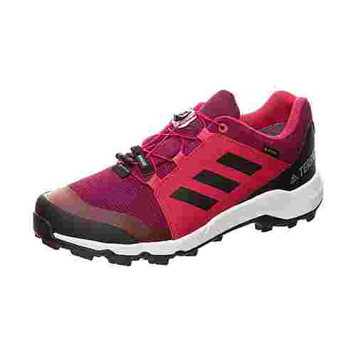 adidas Terrex GTX Trail Laufschuhe Kinder aubergine / pink