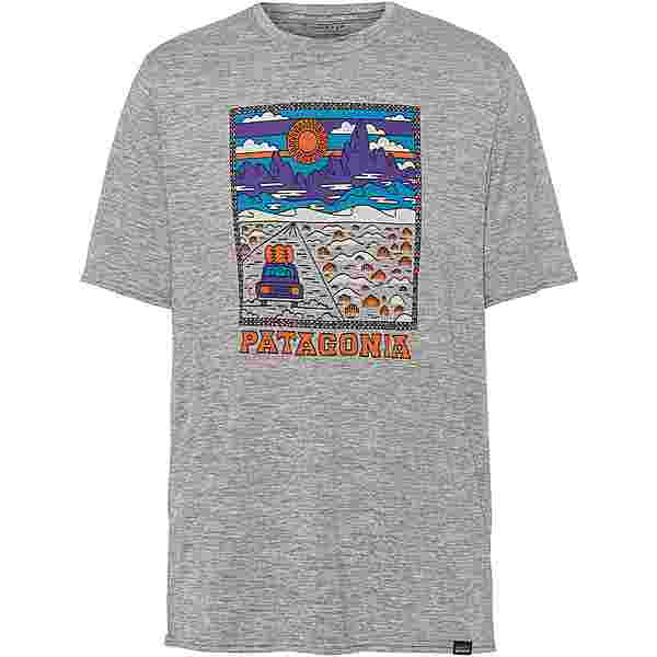 Patagonia CAP COOL DAILY GRAPHIC Funktionsshirt Herren summit road/feathergrey