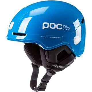 POC POCito Obex SPIN Skihelm Kinder fluorescent blue