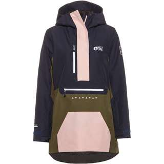 Picture Skijacke Damen army green dark blue