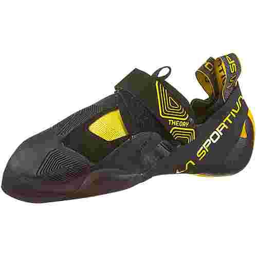 La Sportiva Theory Kletterschuhe Herren black-yellow