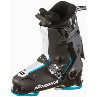 Nordica HF 85 W Skischuhe Damen black-light blue-white
