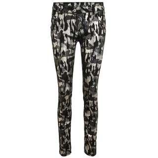 Blue Monkey MANIE 10565 Straight Fit Jeans Damen schwarz