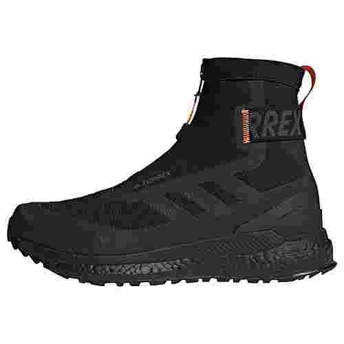 adidas TERREX Free Hiker COLD.RDY Wanderschuh Wanderschuhe Herren Core Black / Core Black / Orange