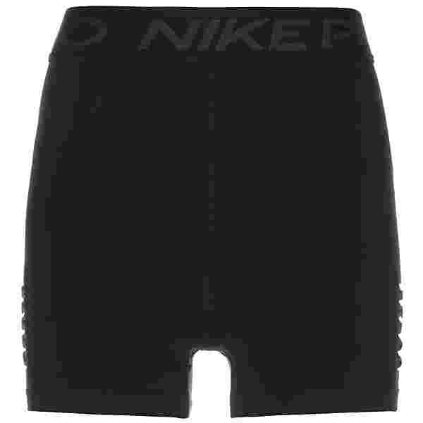 Nike 3In Hi-Rise Shorts Damen schwarz / dunkelgrau