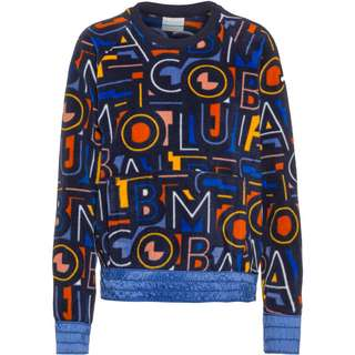 Columbia Exploration Fleecepullover Damen dark nocturnal, multi typo print