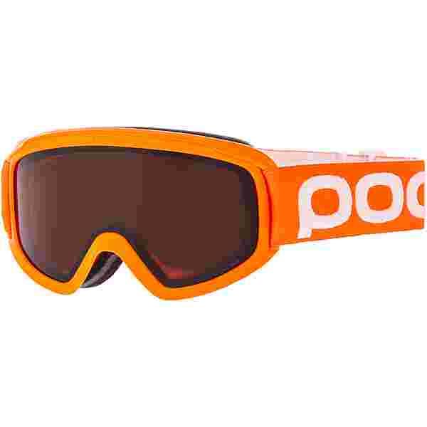 POC POCito Opsin Skibrille Kinder fluorescent orange