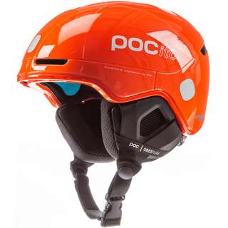 POC POCito Obex SPIN Skihelm Kinder fluorescent orange