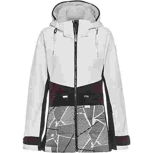 ICEPEAK Ely Softshelljacke Damen OPTIC WHITE