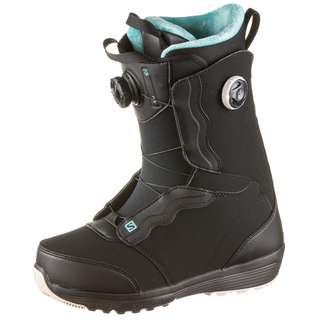 Salomon IVY BOA SJ BOA Snowboard Boots Damen black