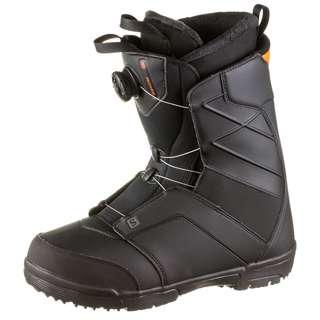 Salomon FACTION BOA Snowboard Boots Herren black-red