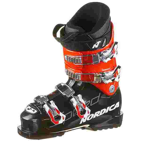 Nordica SPEEDMACHINE J 4 Skischuhe Kinder black-red