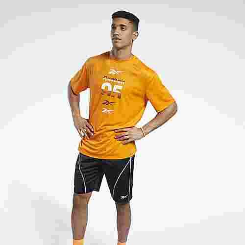 Reebok MYT T-Shirt Funktionsshirt Herren Orange