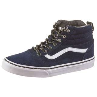 Vans YT Ward Hi Sneaker Kinder dress blues-white