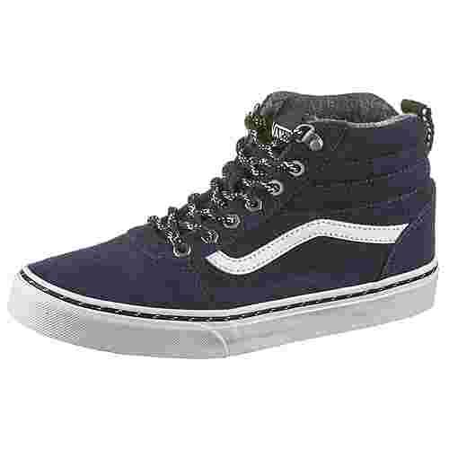 Vans YT Ward Hi Sneaker Kinder dress blues-white