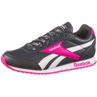 Reebok Royal Classic Jogger Sneaker Kinder collegiate navy-proud pink-white