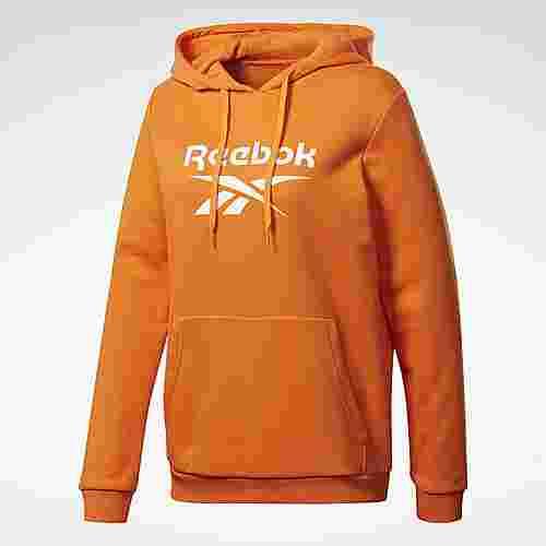 Reebok Classics Big Logo Hoodie Hoodie Damen Orange