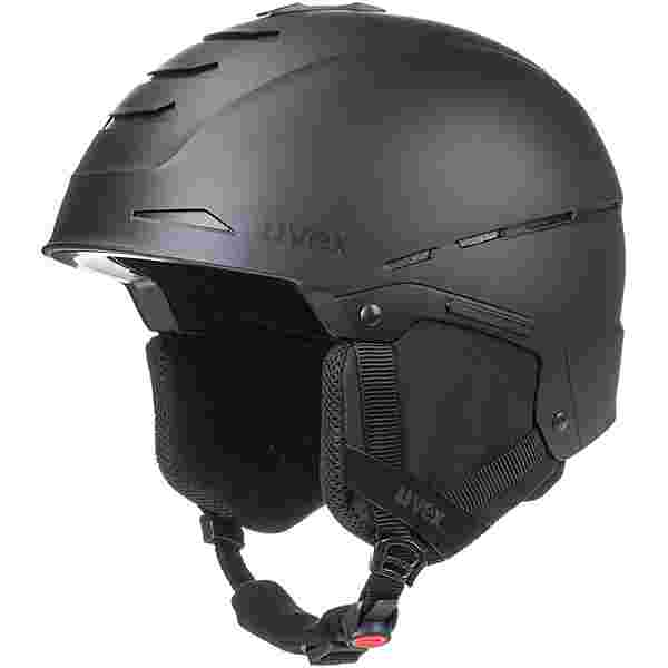 Uvex legend Skihelm black mat