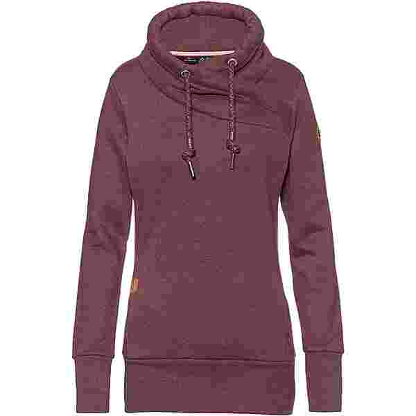 Ragwear Neska Sweatshirt Damen wine red