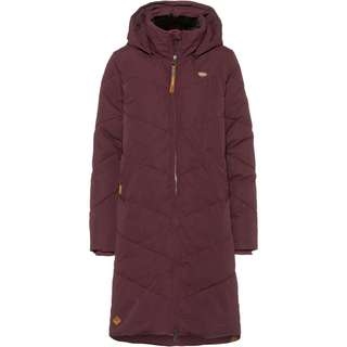 Ragwear Rebelka Steppmantel Damen wine red