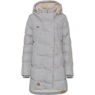 Ragwear Pavla Steppmantel Damen light grey