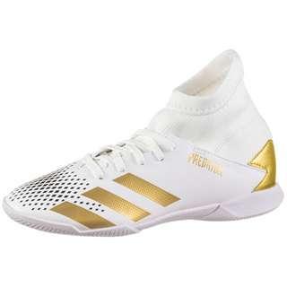 adidas PREDATOR 20.3 IN J Fußballschuhe Kinder ftwr white