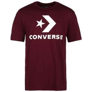 CONVERSE Star Chevron T-Shirt Herren weinrot