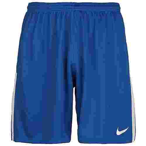 Nike League Knit II Fußballshorts Herren blau / weiß