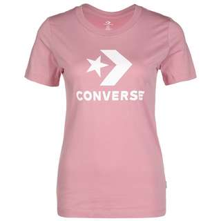 CONVERSE Star Chevron T-Shirt Damen rosa / weiß