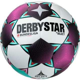 Derbystar BL Brillant Replica S-Light 290 Fußball weiß pink grün