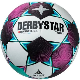 Derbystar BL Brillant Replica Light 350 Fußball weiß pink grün