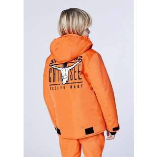 Chiemsee Skijacke Skijacke Kinder Shock Orange