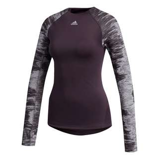 adidas Alphaskin Cold Weather Longsleeve T-Shirt Damen Lila
