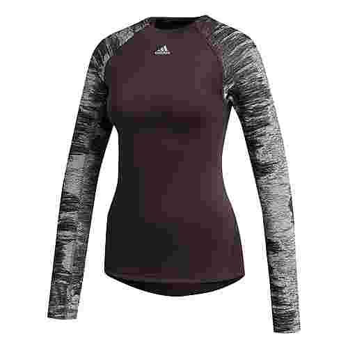 adidas Alphaskin Cold Weather Longsleeve T-Shirt Damen Lila