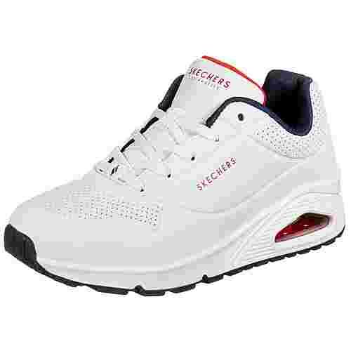 Skechers Uno Stand on Air Sneaker Damen weiß